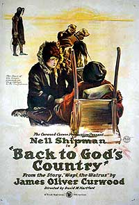 BACK TO GOD'S COUNTRY (1919), courtesy Richard C. Allen